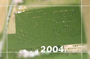 Maislabyrinth 2004